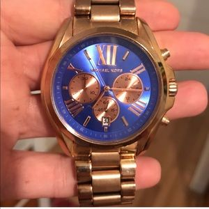 MICHAEL KORS Super XL Boyfriend Watch Rose Gold!